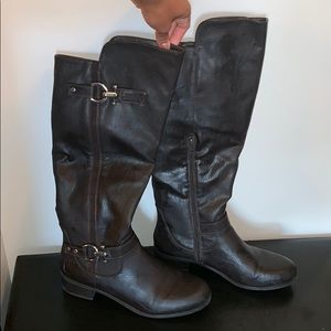 Casual Nautica Dark Brown Boots Size 10